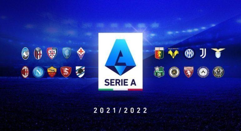 Os vinte clubes do Campeonato Italiano de 2021/2022