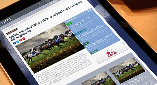 No aplicativo da Agipronews, apostas em corridas de cavalos...