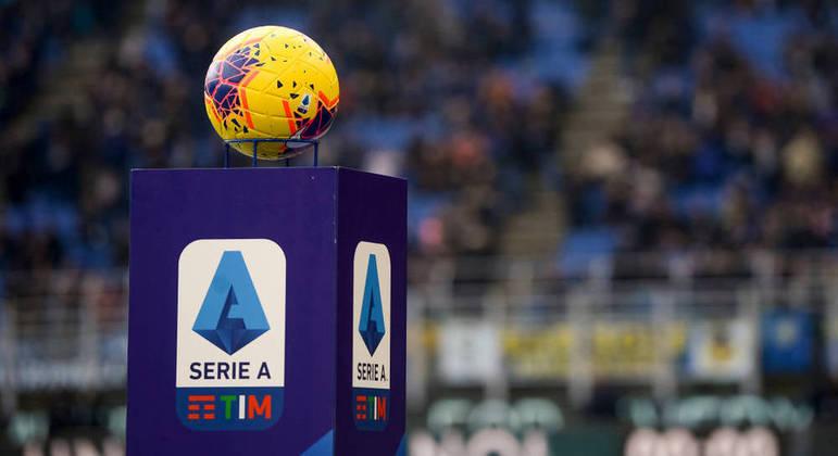 A bola oficial do Italiano de 2021/2022