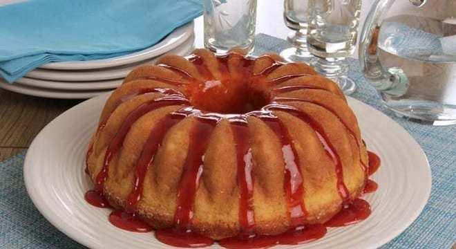 caldas de bolo framboesa