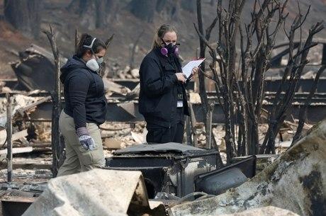 Restos mortais de 79 vítimas foram encontrados