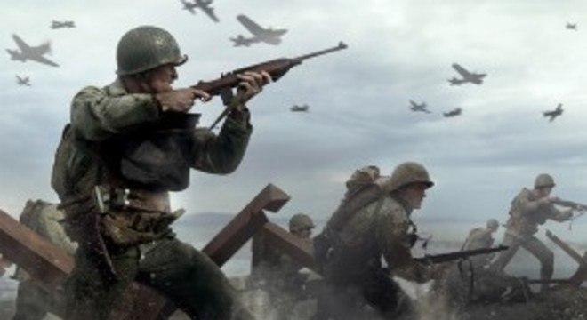 Call of Duty: WWII é um dos jogos gratuitos de junho na PS Plus