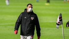 Crespo pede calma com Calleri: 'Sem condições de ser titular'