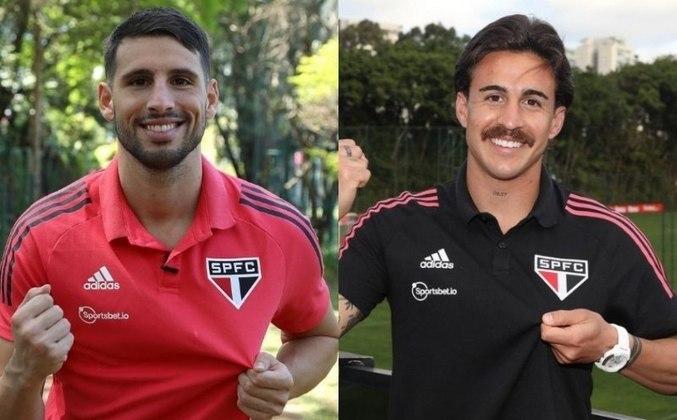 Calleri e Gabriel Neves darão um grande acréscimo ao elenco do São Paulo não só dentro de campo, mas também fora dele. Com as novidades, o valor de mercado do Tricolor chegou a R$ 496,6 milhões, segundo o site Transfermarkt. Veja o valor de cada jogador na galeria: