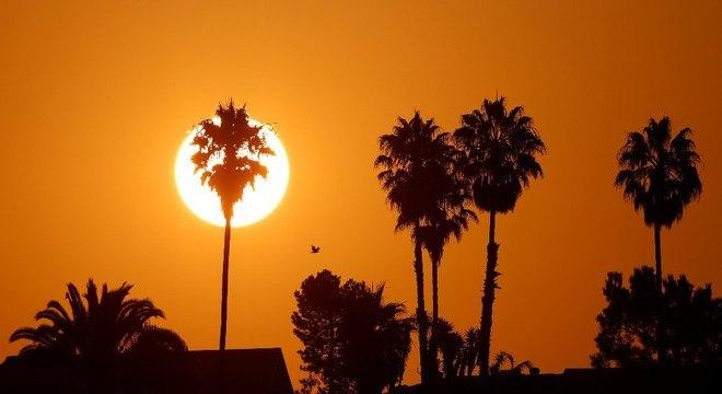 A temperatura média global não para de subir