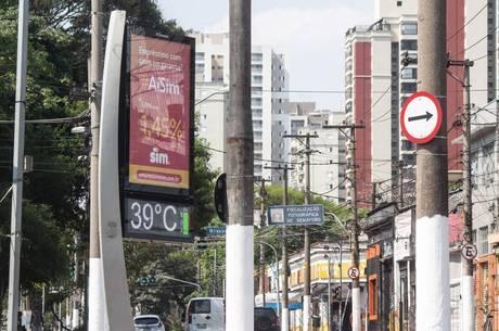 Calor em São Paulo deve bater novos recordes
