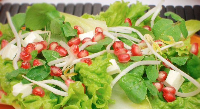 calor salada refrescante