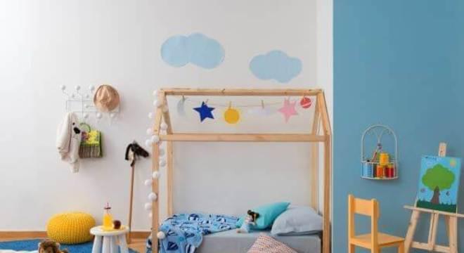 Cama casinha para quarto infantil