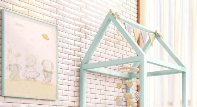 Cama de casinha com detalhes lindos na decoração