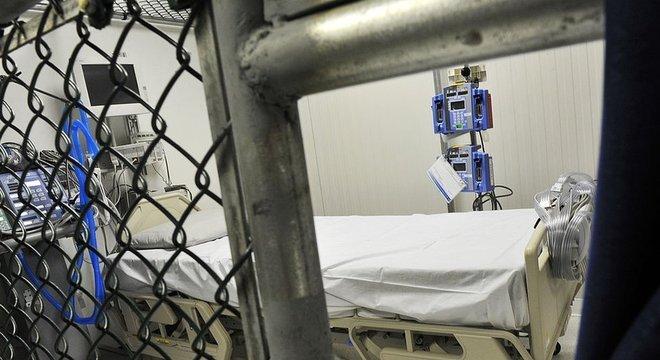 Os presos não podem ser transferidos para os Estados Unidos em caso de emergência