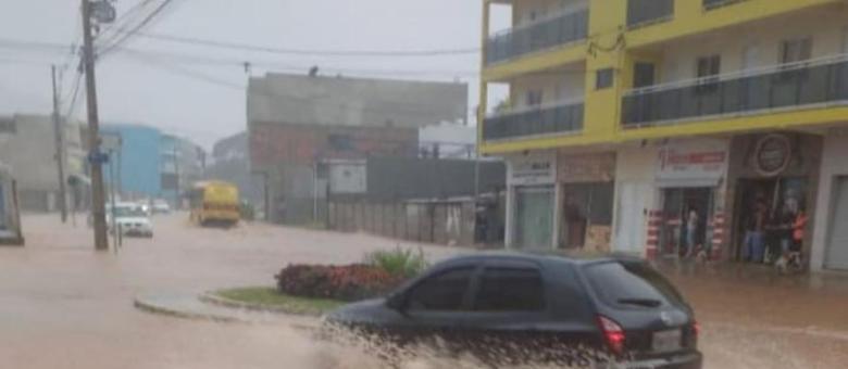 Chuva atinge Camanducaia