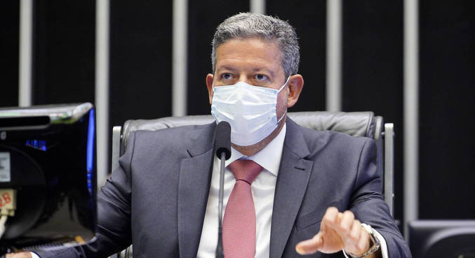 O presidente da Câmara, Arthur Lira (PP-AL)