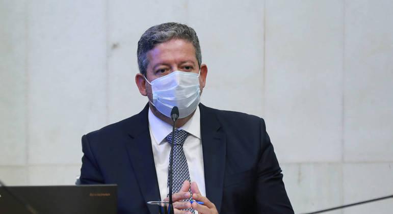 02/09/2021 - Presidência Reunião de Líderes. Presidente da Câmara, dep. Arthur Lira PP-AL