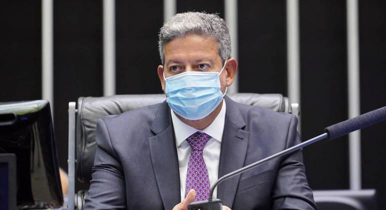 O presidente da Câmara, Arthur Lira (PP/AL)