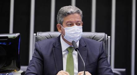 Na imagem, presidente da Câmara, Arthur Lira (PP-AL)