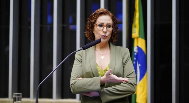 A deputada federal Carla Zambelli