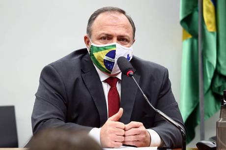 Pazuello está no cargo desde 16 de maio