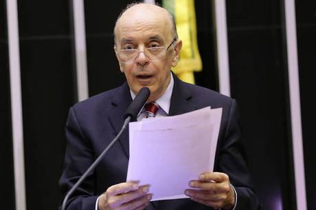 Defesa de Serra alega violação à prerrogativa de foro