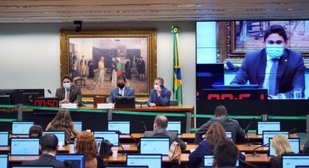 Na imagem, sessão do Conselho de Ética