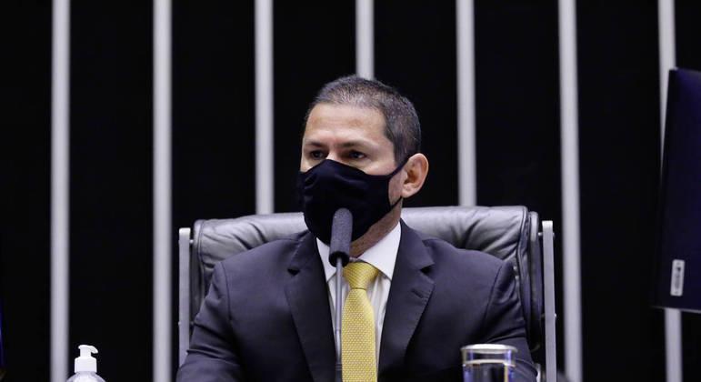 Sessão foi presidida pelo vice-presidente, deputado Marcelo Ramos