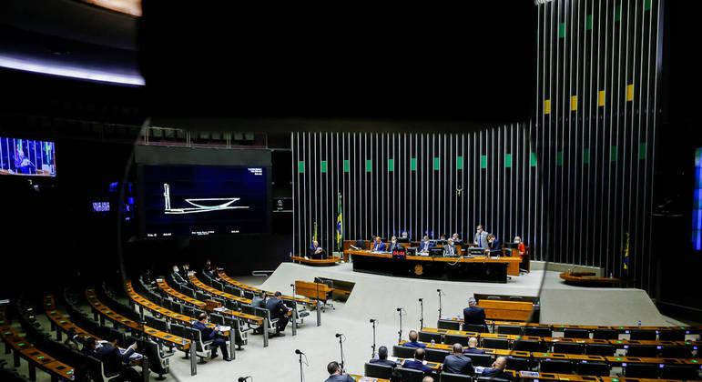 Plenário da Câmara dos Deputados vota emendas do Código Eleitoral