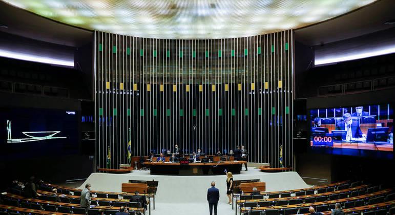 A Câmara dos Deputados aprovou o texto-base do novo Código Eleitoral