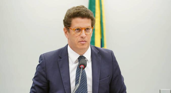 O ministro do Meio Ambiente, Ricardo Salles
