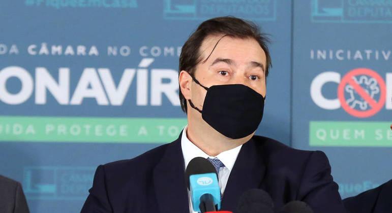 Presidente da Câmara dos Deputados, dep. Rodrigo Maia Najara Araujo/Câmara dos Deputados