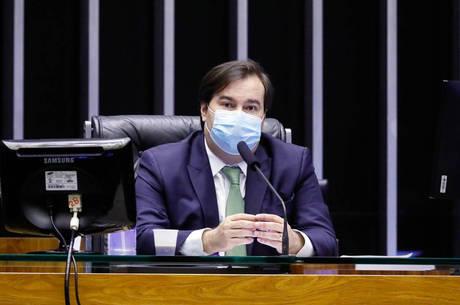 Na imagem, deputado federal Rodrigo Maia (DEM-RJ)