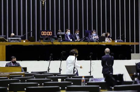 Na imagem, plenário da Câmara dos Deputados