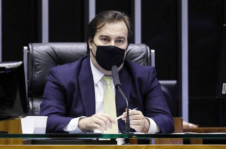 Na imagem, dep. Rodrigo Maia (DEM-RJ)