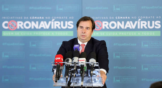 Presidente da Câmara dos Deputados, deputado Rodrigo Maia