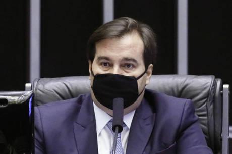 Presidente da Câmara, dep. Rodrigo Maia (DEM RJ)