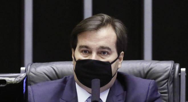 O presidente da Câmara, deputado Rodrigo Maia (DEM - RJ)