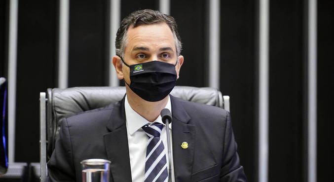 O presidente do Senado, Rodrigo Pacheco: 'Não há razão para sequer cogitar estado de sítio'