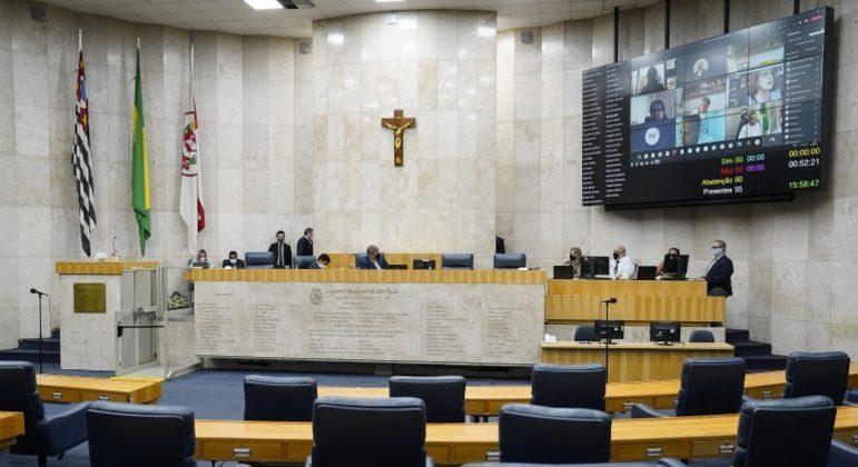 Câmara Municipal de São Paulo realiza sessões virtuais marcadas por gritos e confusão