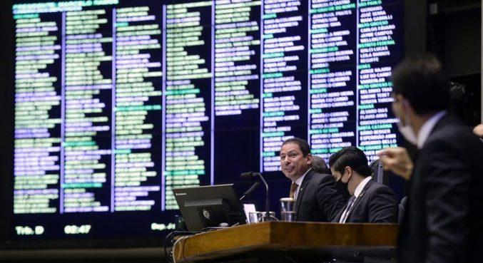 Sessão da Câmara que analisou vetos presidenciais
