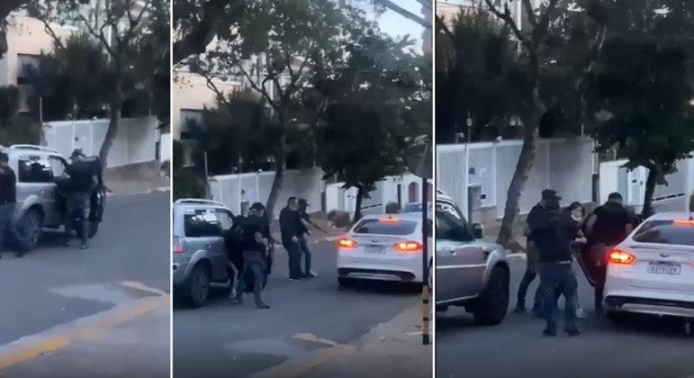 Câmera flagra ação de falsos policiais civis no Paraíso (SP)