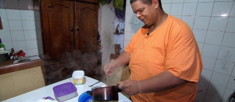 William de Oliveira chegou a pesar 250 quilos