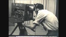 Câmera Record relembra os programas que marcaram os 70 anos da televisão brasileira