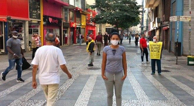 Sem documento, Stephani se perdeu nas ruas de São Paulo ainda criança