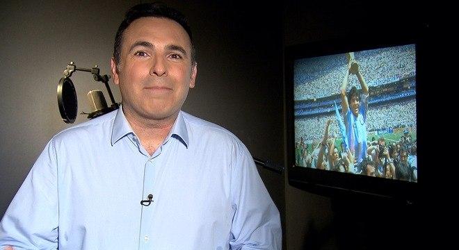 Reinaldo Gottino narra lances inesquecíveis da lenda do futebol argentino Diego Maradona