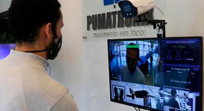 Nova tecnologia permite a detecção de temperatura corporal