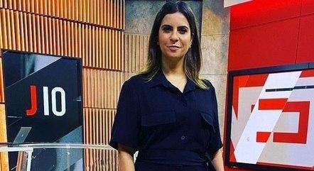 Camila Bonfim, da Globo, em Brasília