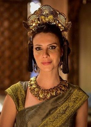 Camila Rodrigues, um dos destaques de 'Gênesis'
