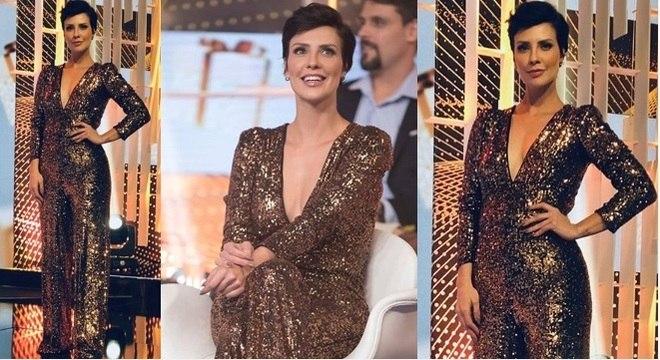 Camila Rodrigues é o ultimo look aprovado do ano. Arrasou né?