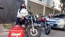 Chef de cozinha e professora viram motogirls para enfrentar pandemia