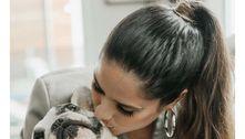Camilla Camargo lamenta morte súbita de cachorra: 'Coração chora'