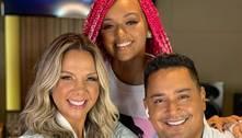 Filha de Xanddy e Carla Perez trabalha como recepcionista