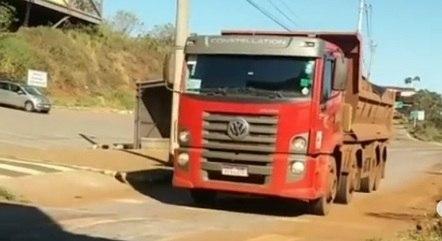 Órgãos questionam presença dos caminhões